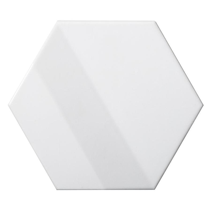 Emser Code 20-Pack White 6-in x 6-in Glazed Ceramic Subway Wall Tile | W10COD3WH0607HX -  Emser Tile