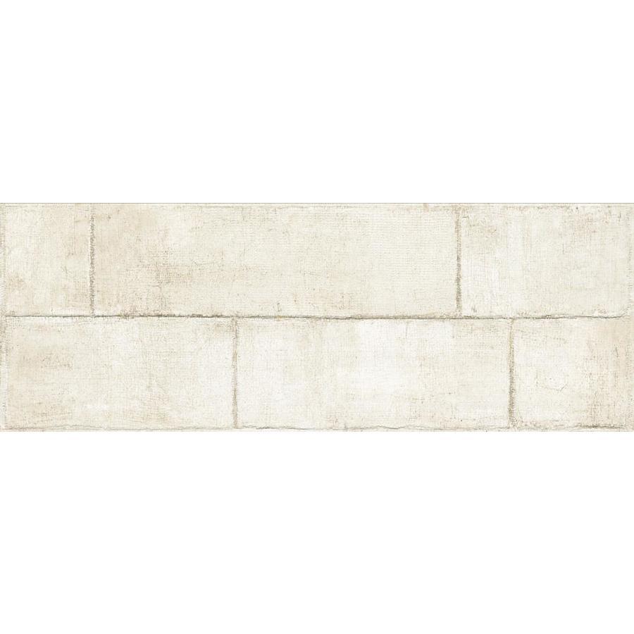 Emser Agenda 2-Pack Ramie 17-in x 47-in Glazed Ceramic Brick Look Wall Tile | W86AGENRWH1747 -  Emser Tile