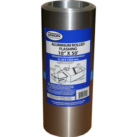 Shop Union Corrugating 10 In X 50 Ft Aluminum Roll