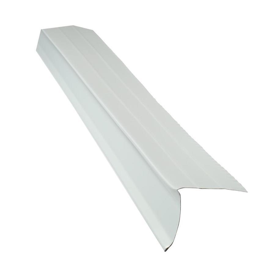 Shop Union Corrugating 2 38 In X 10 Ft Aluminum Drip Edge