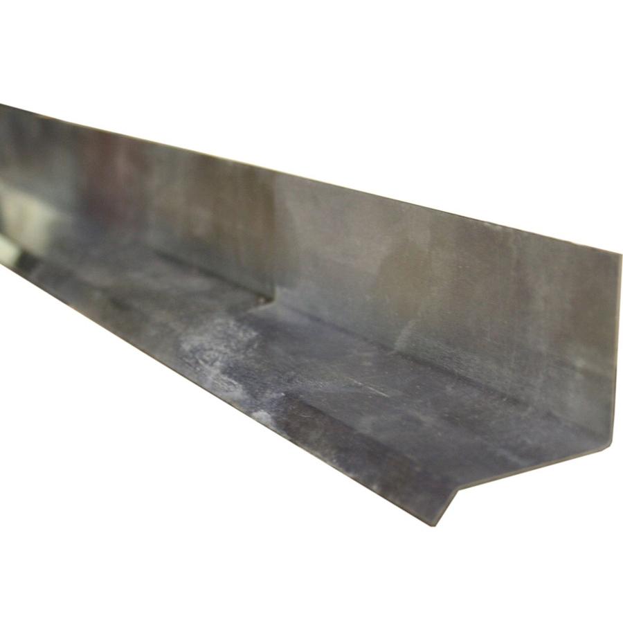 Union Corrugating 1 5 in x 3 5 ft Aluminum Drip Edge on