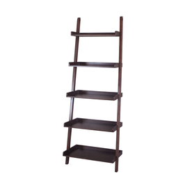 Display Product Reviews For Java Wood 5 Shelf Ladder Bookcase