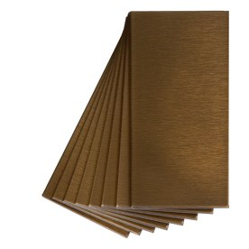 Aspect Metal 3-in x 6-in Bronze Metal Multipurpose Backsplash A53-53