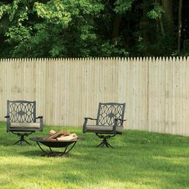 Shop Severe Weather Spruce Pine Fir Stockade Wood Fence