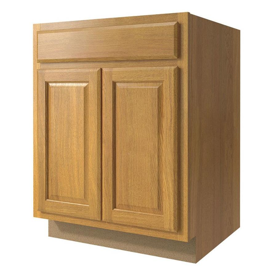 Lowe S Kitchen Base Cabinets: Shop Kitchen Classics Portland 27-in W X 35-in H X 23.75