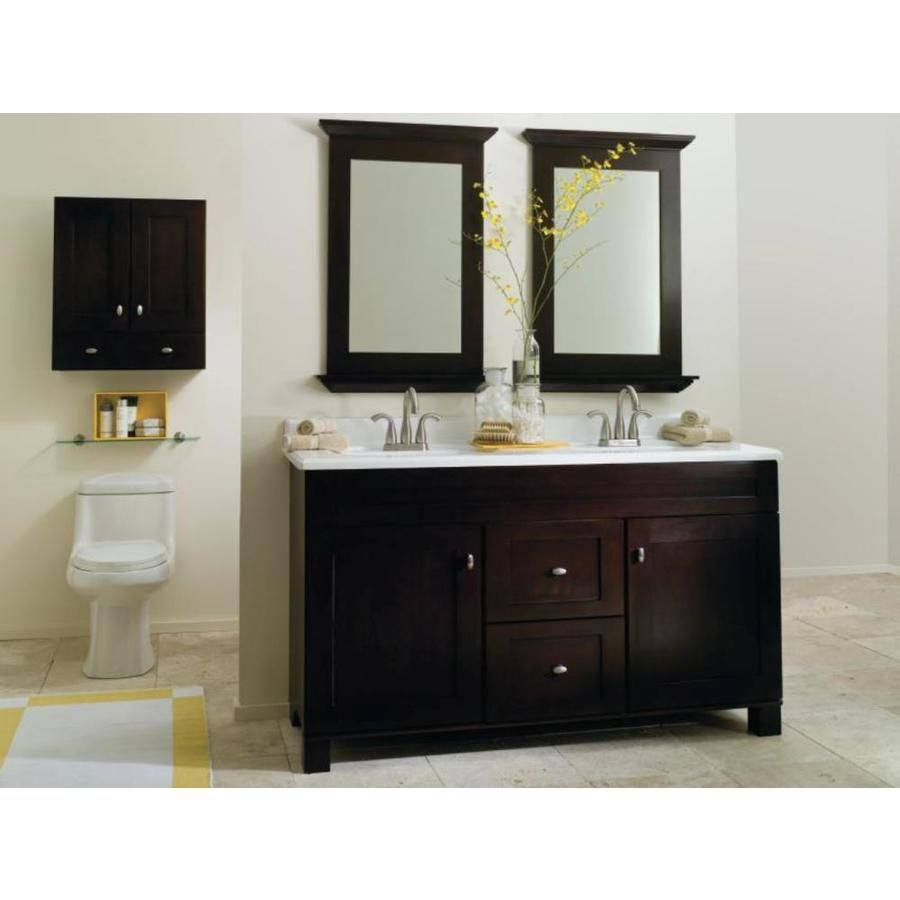 Diamond FreshFit Palencia 10-in Espresso Bathroom Vanity Cabinet