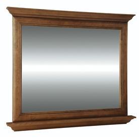 Display Product Reviews For Ballantyne 42 In Mocha With Ebony Glaze  Rectangular Bathroom Mirror