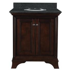 Display Product Reviews For Eastcott Auburn Undermount Single Sink Bathroom  Vanity With Granite Top (Common