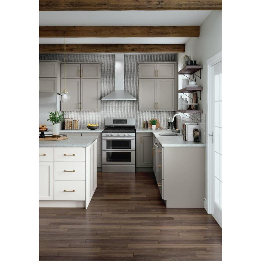 Diamond Now Wintucket 12 In W X 35 In H X 23 75 In D Truecolor Cloud Door And Drawer Base Stock Cabinet In The Stock Kitchen Cabinets Department At Lowes Com