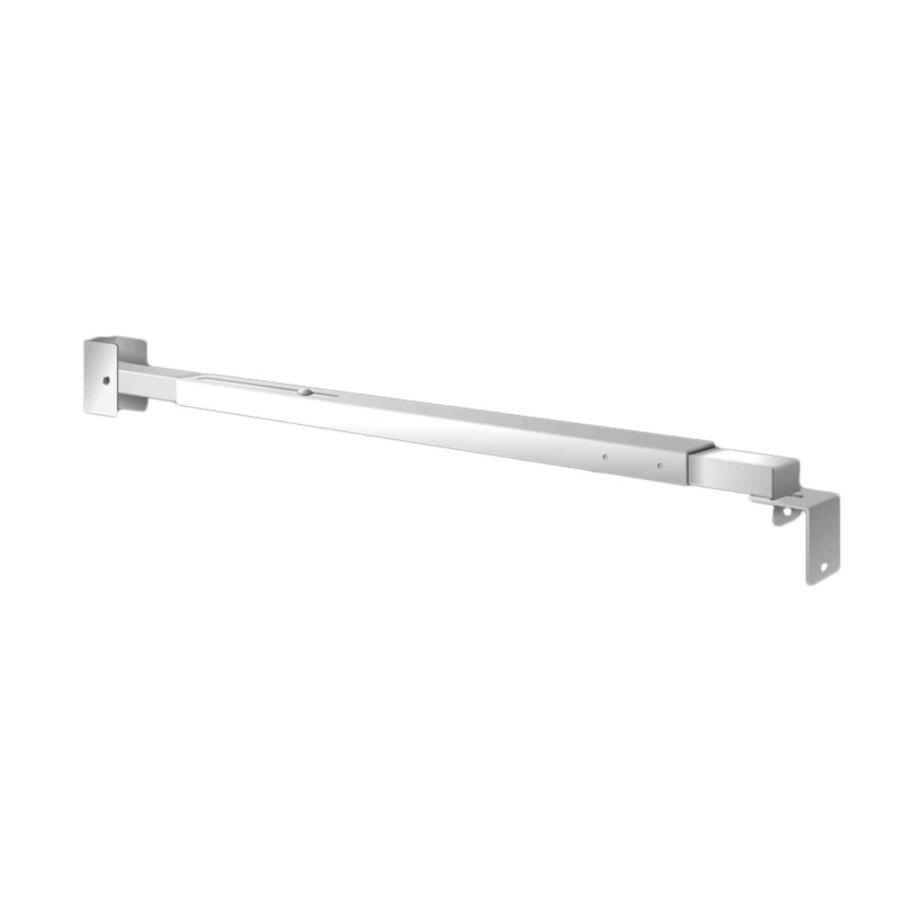 Window Security Bars Lowes >> Shop Mr. Goodbar 48-in White Patio Door Window Security ...
