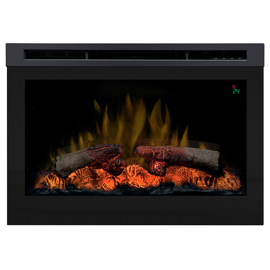 Shop Dimplex 25 75 In Black Electric Fireplace Firebox At