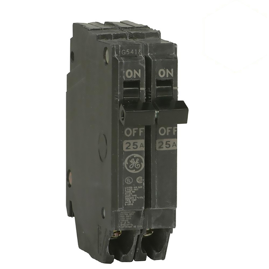 Ge Q Line Thqp 50 Amp Double Pole Circuit Breaker On Popscreen Shop Square D Qo 20amp Singlepole At Lowescom