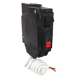 Ge Q-Line Thql 15-Amp 1-Pole Gfci Circuit Breaker Thql1115gftp