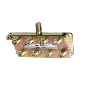 Shop Ideal Zinc 8 Way Coax Video Cable Splitter At Lowes Com
