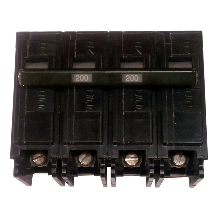 Siemens QP 200 Amp Main Circuit Breaker on PopScreen