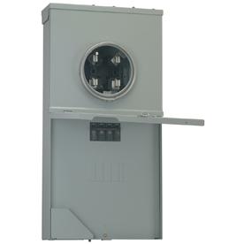 Ge 200-Amp Ringless Single Phase 120/240 Meter Socket R208cr2a