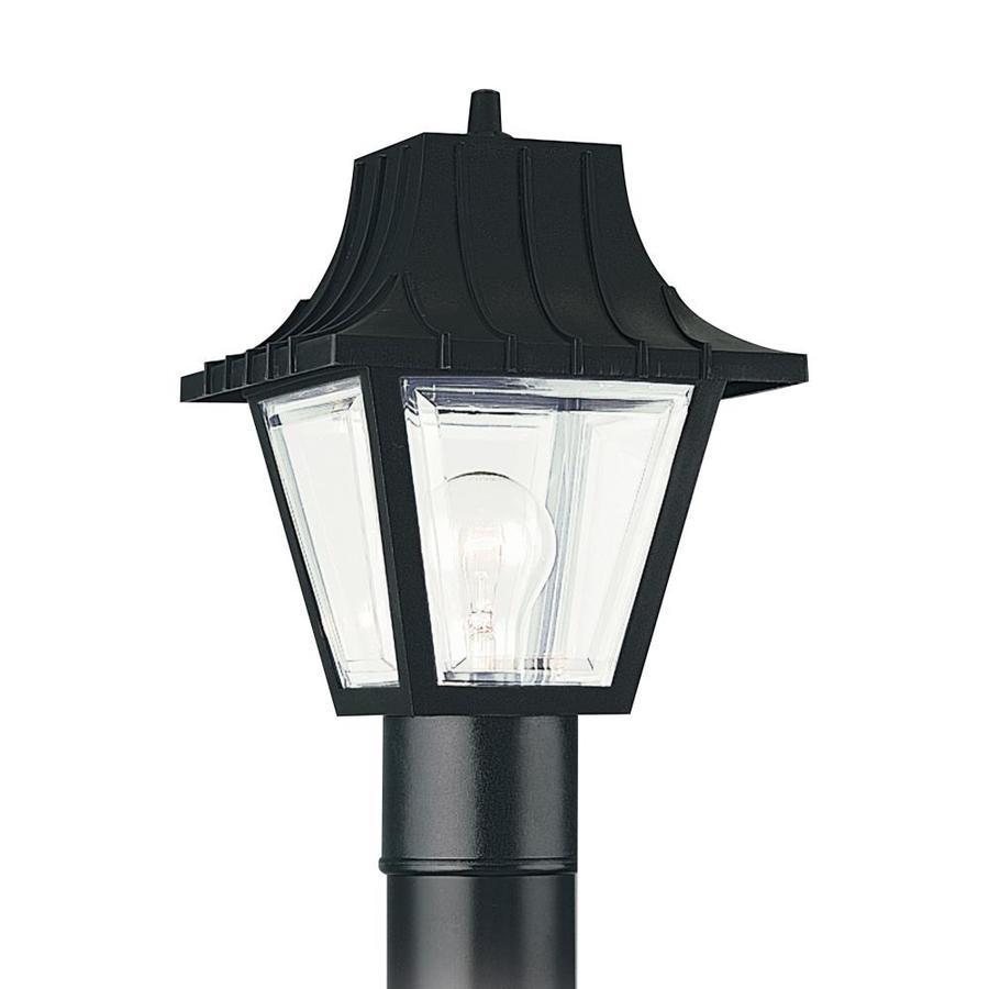 Shop Sea Gull Lighting Outdoor Post Lantern At Lowes Com