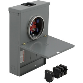 Shop Square D 20 Circuit 10 Space 100 Amp Main Breaker Load Center Value Pack At