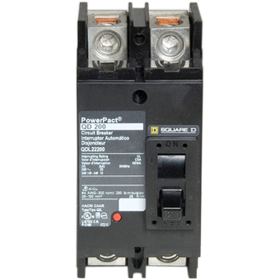 Ver Square D QO 200 Amp Double Pole Circuit Breaker at Lowes