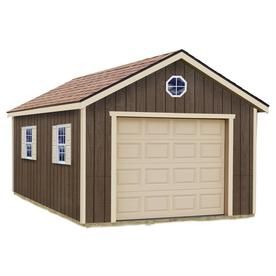 Best Barns (Common: 12-Ft X 16-Ft; Interior Dimensions: 1...