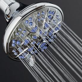 Aquadance Chrome 6-Spray Rain Shower Head 6603
