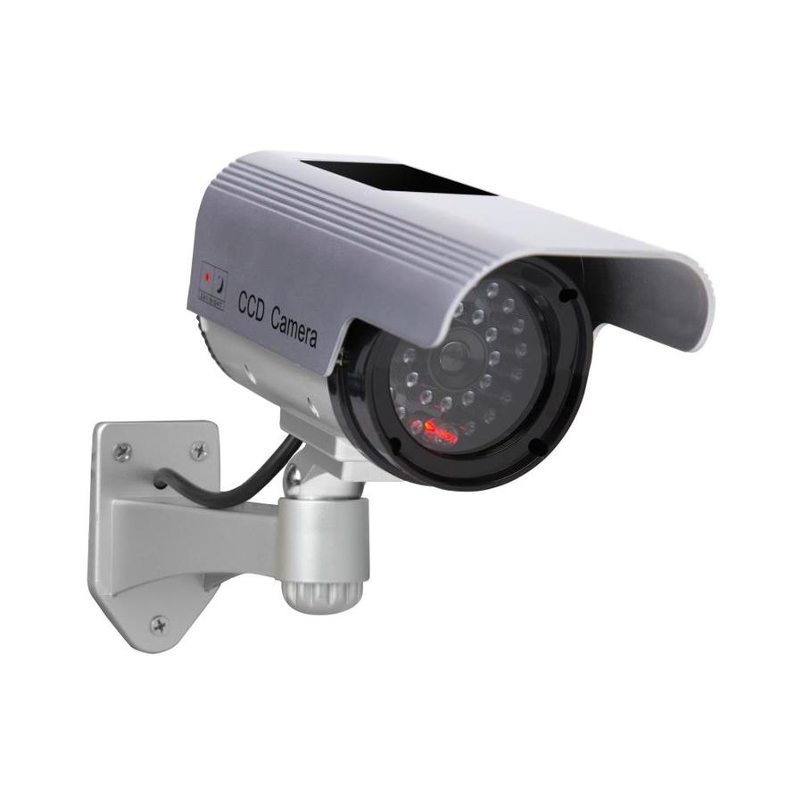 Exterior Home Security Cameras: Shop Sunforce Solar Interior/Exterior Simulated Security