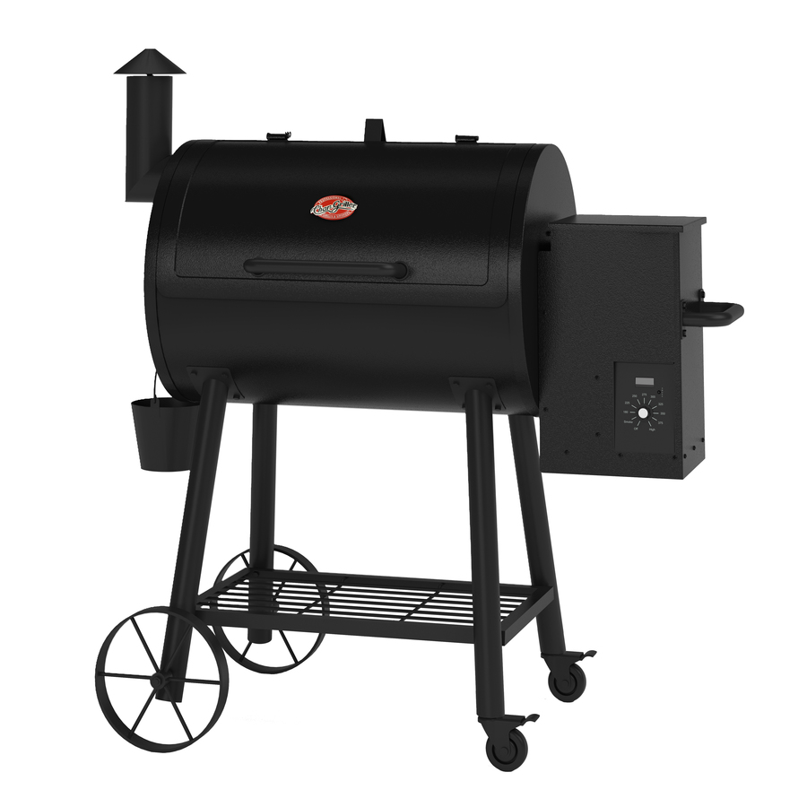 New Chargriller Pellet Grill