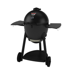 CHAR-GRILLER Akorn 20-In Graphite Kamado Charcoal Grill 1...