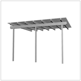 Americana Building Products 168-In W X 192-In L X 112.5-I...