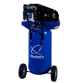 26-Gallon Portable Electric Vertical Air Compressor - Quincy Compressor Q12126VPQ