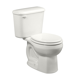 American Standard Colony White  Round Standard Height 2-P...