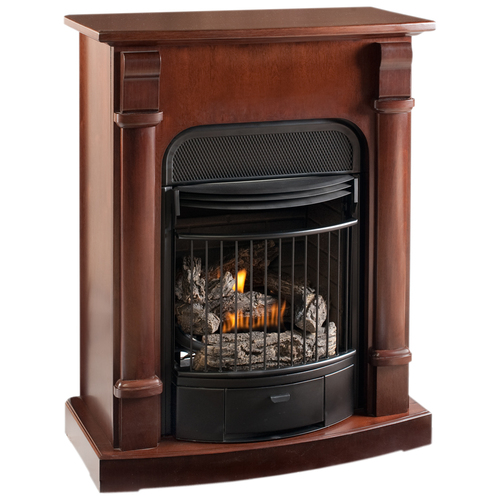 Procom Compact Amp Vent Free Gas Fireplace From Lowes