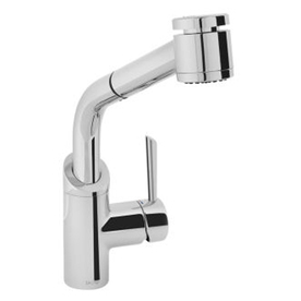 Jado coriander polished chrome 1 handle pull out kitchen - Mico designs seashore kitchen faucet ...