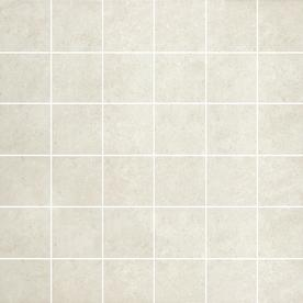 Style Selections 12-in x 12-in Mitte White Glazed Porcelain Mosaic Square Medallion Tile G3CC20MO