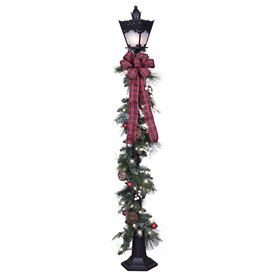 GE 6-Ft Freestanding Lamp Post Lamp Post With Constant Wh...