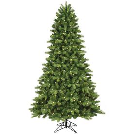 Ge 7.5-Ft Pre-Lit Crestwood Spruce Artificial Christmas Tree With 500 Multi-Function Color Changing Clear Led Lights 192