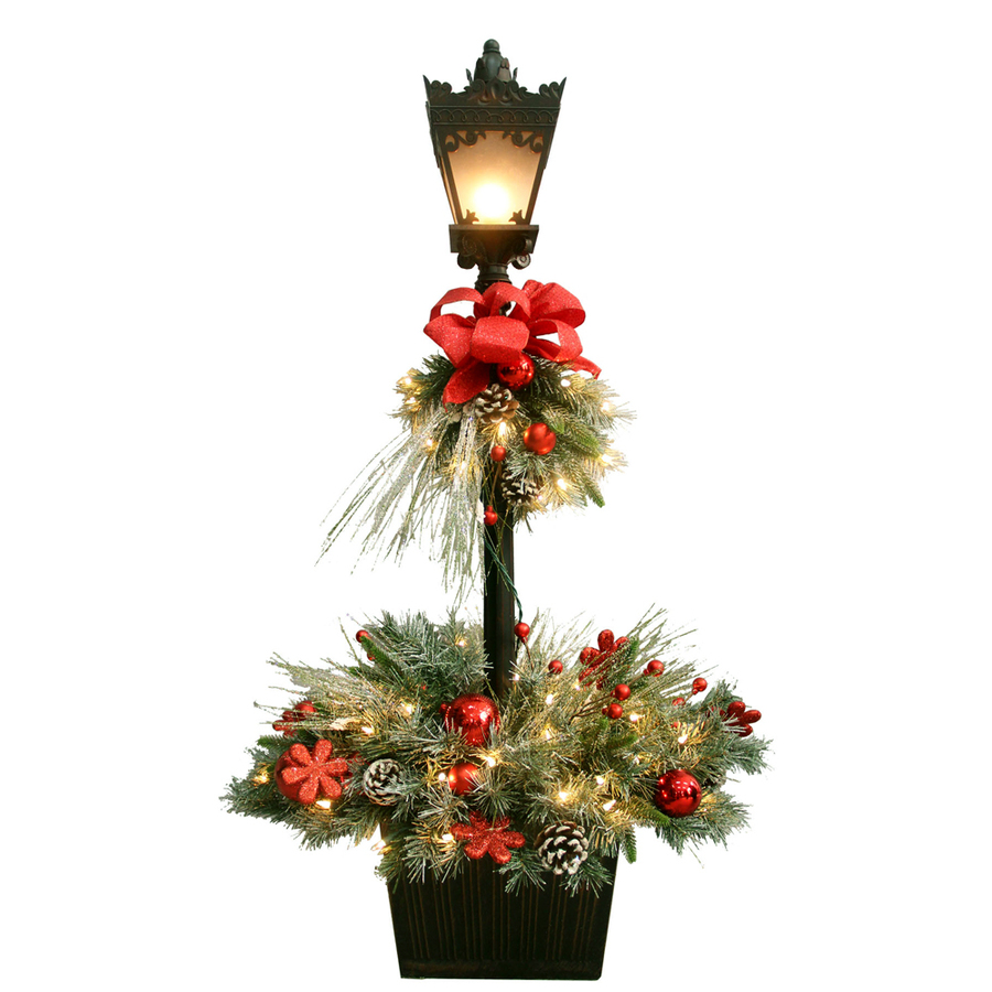 Pre Lit Artificial Christmas Trees Lowes