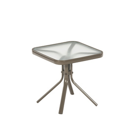 Shop Garden Treasures Driscol Square End Table At Lowes Com