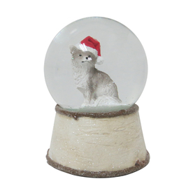 Holiday Living Musical Fox Snow Globe 6795860