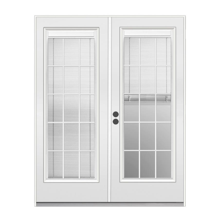 Shop ReliaBilt 71.5-in Blinds Between The Glass Steel