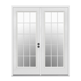 ReliaBilt 71.5-in x 79.5-in Left-Hand Inswing White Steel French Patio  sc 1 st  Loweu0027s & Shop Patio Doors at Lowes.com pezcame.com