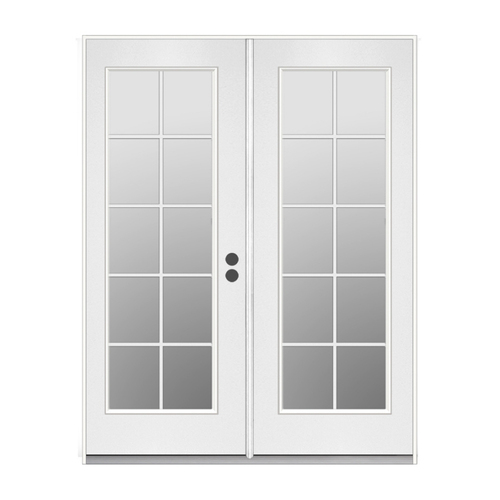 Energy Efficient Reliabilt French Patio Door From Lowes