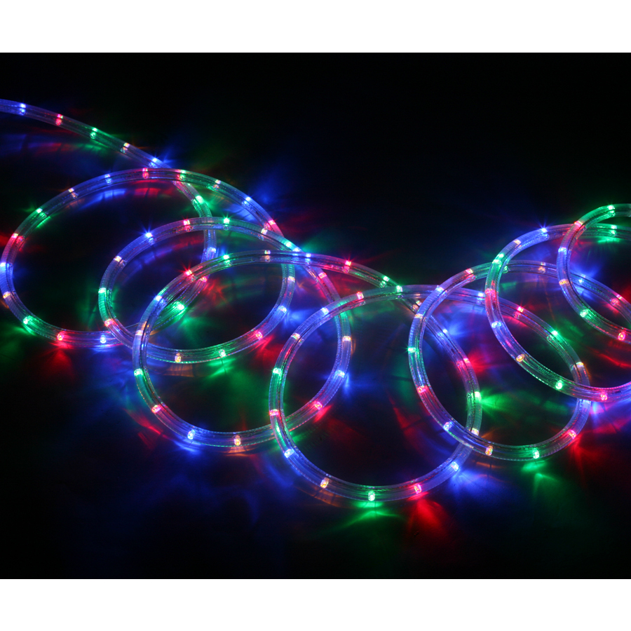 Lights At Lowes: Shop Neoflam Multi-Color LED Rope Light (Actual: 18-ft) At