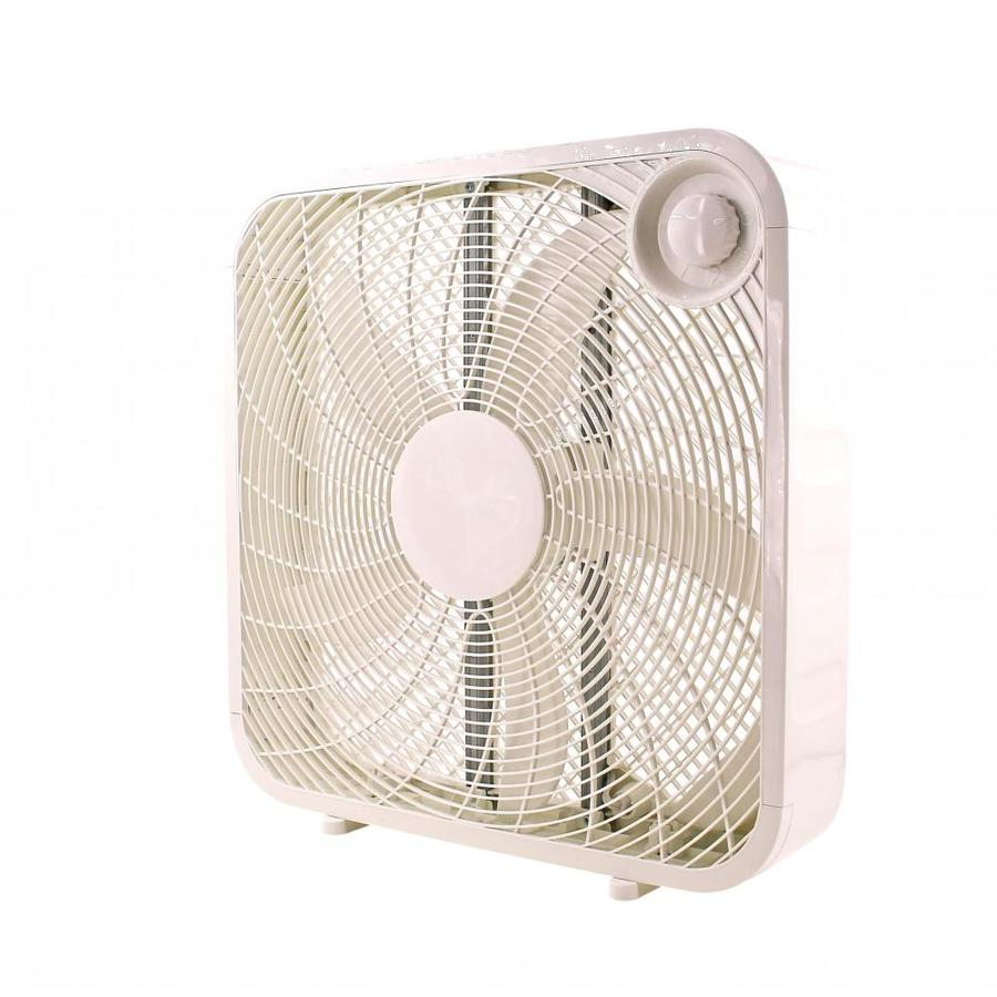 Utilitech 20 In 3 Speed Indoor White Box In The Portable Fans Department At Lowes Com