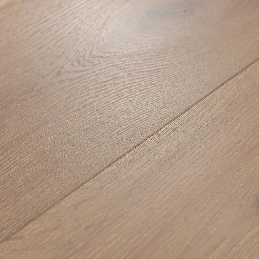 Cali Hardwoods Meritage 9 1 2 In Wide X 3 5 In Thick Oak Carmel Valley Wirebrushed Engineered Hardwood Flooring 34 1 Sq Ft In The Hardwood Flooring Department At Lowes Com