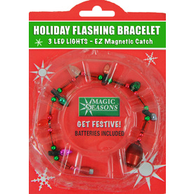 Magic Seasons Lighted Christmas Bracelet 702378