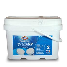 Shop Clorox Pool Amp Spa 5 Lb Bucket 3 In Pool Chlorine Tabs