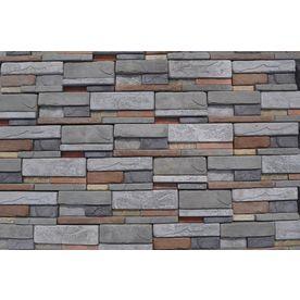 MSI Reveal Dry Stack 39.2-sq ft Brown Stone Veneer - M-Rock MSIREVEAL8BOXPAK