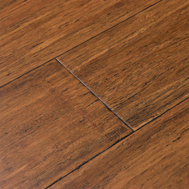 Shop Cali Bamboo Fossilized 174 5 37 In W Prefinished Bamboo