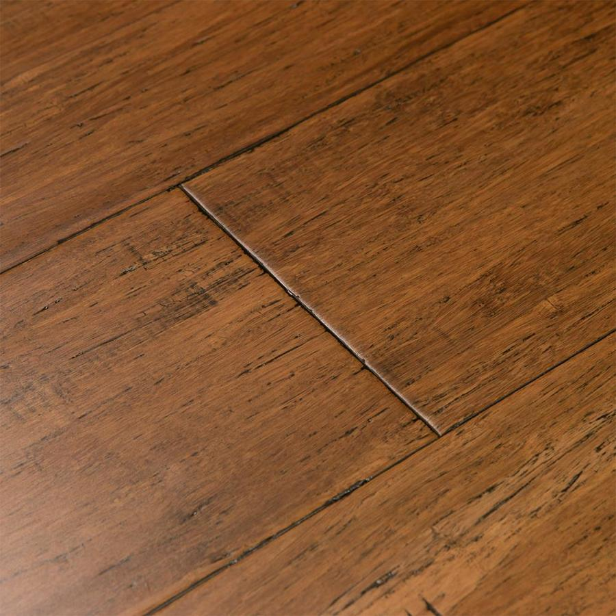 Cali Bamboo Fossilized 5.38-In Antique Java Bamboo Handscraped Engineered Hardwood Flooring (27.28-Sq Ft) 7013001000